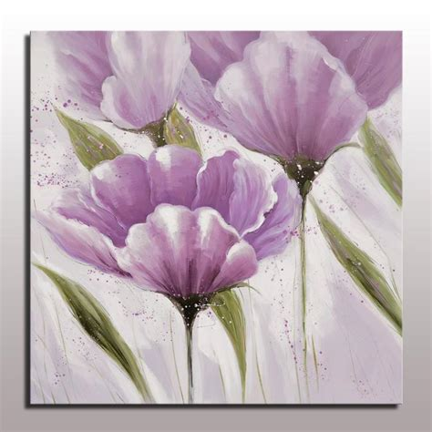 handmade decorative modern simple abstract flower oil
