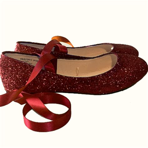 Sparkly Wedding Flats by Sparkly Burgundy Maroon Glitter Ballet Flat Shoes Wedding