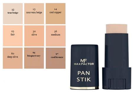 max factor pan stik foundation full coverage  choose