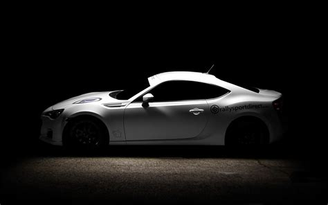 subaru brz black wallpaper subaru brz blacked out wallpaper 1024x768 23655
