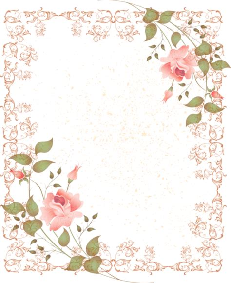 Soft Transparant Flower Butterfly Cover Casing Iphone marco rahmen cadre frame png quadro lacy pink frame with pink corner accents