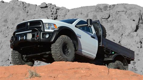 ram rig american expedition vehicles turned a ram into a beast of