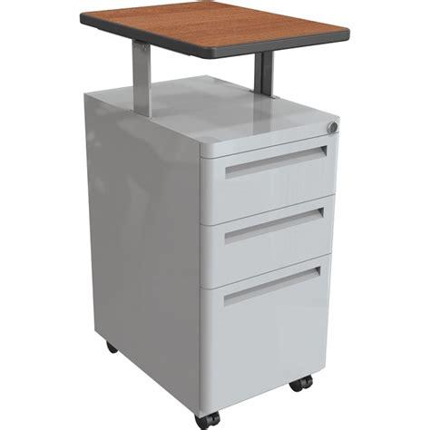 Balt Mobile Pedestal File Cabinet W Adjustable Top Mobile Pedestal File Cabinet