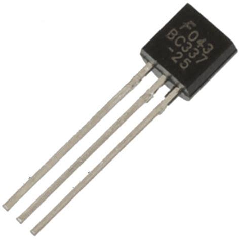 transistor bc337 25 to 92 transistors 2n2222 bc327 bc337 bc547b 2n2907a to 92 pnp npn pack of 25 50 100