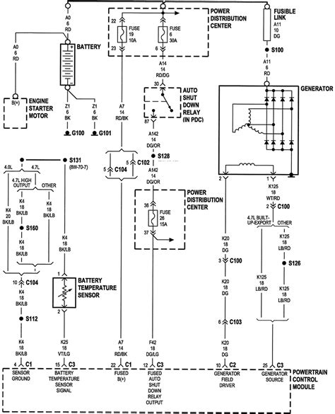 1996 jeep grand pcm wiring diagram 1996 jeep