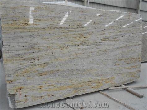 Antique River Gold / Brazil Yellow Granite Slabs Tiles