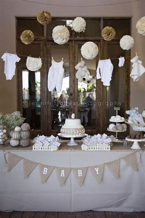 Baby Shower Decorations by I Like How Classic It Looks I Don T About The Items