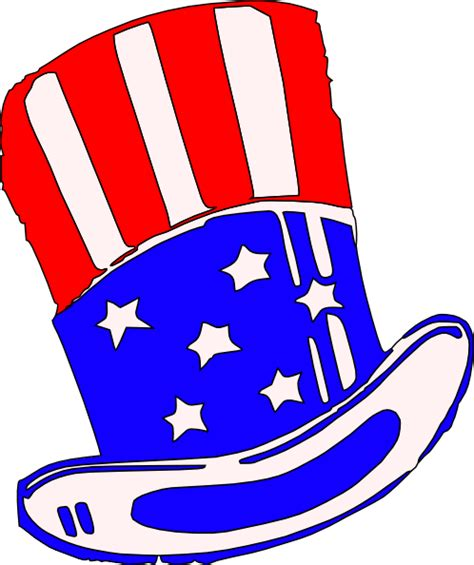 yankee doodle royalty free sams hat clothing clip at clker vector