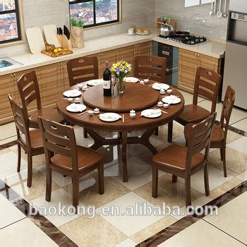dining room furniture center dining room furniture solid wood rotating table buy with