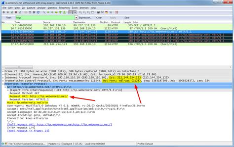 free proxy ip at a glance http proxy packets vs normal http packets