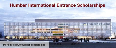 Mba Fees In Humber College Canada by Humber International Entrance Scholarships Scholarships Ng