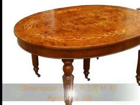 tavoli inglesi tavolo tavoli inglesi ovali intarsiati apribili a