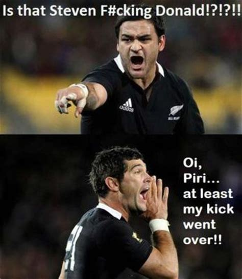 All Blacks Meme - stephen donald from ugly duck to darling stuff co nz