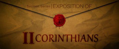 2 corinthians sermon series sermon series banner 2 corinthians lifegate church