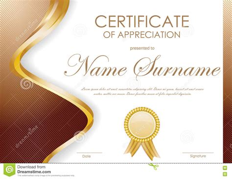 design certificate of appreciation certificate of appreciation background design images