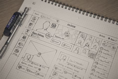 Quality Wireframes Inspiration Muzli Design Inspiration Sketch Templates Wireframes