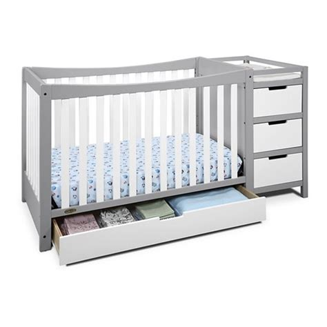 graco gray changing table graco convertible crib suri 4in1 convertible crib