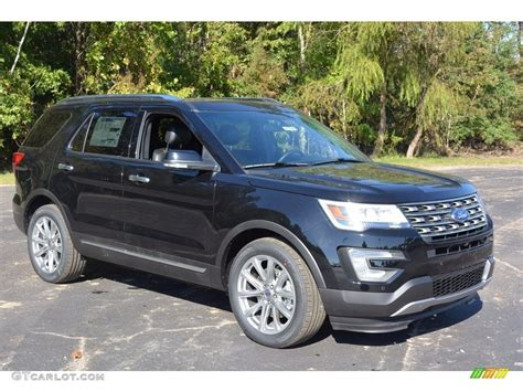 ford explorer 2017 black 2017 shadow black ford explorer limited 116464151 photo