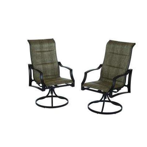 Sling Back Patio Dining Sets Outdoor Dining Chairs Patio Chairs The Home Depot
