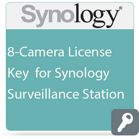 synology license synology 8 license key for synology surveillance