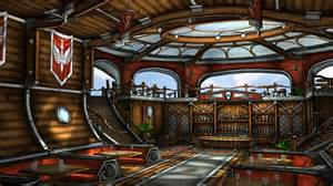 One Room Cottage Plans Airship Bar By Budlong On Deviantart