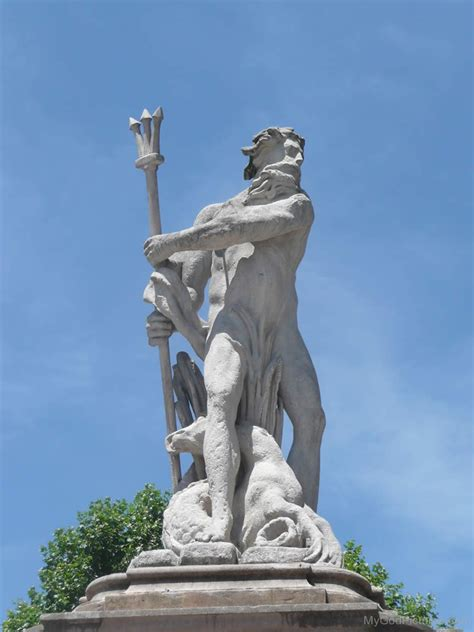 greek god statue lord poseidon god pictures