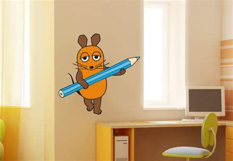 Wandtattoo Kinderzimmer Sendung Mit Der Maus by Wandtattoo Die Maus Mit Stift Sendung Mit Der Maus