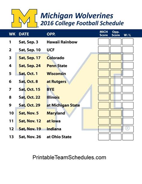 section 2 football schedule 25 best ideas about michigan wolverines football schedule