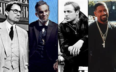 best actor oscars oscars the 25 greatest best actor winners in history