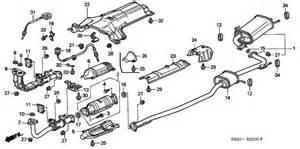 exhaust pipe for 2000 honda accord sedan