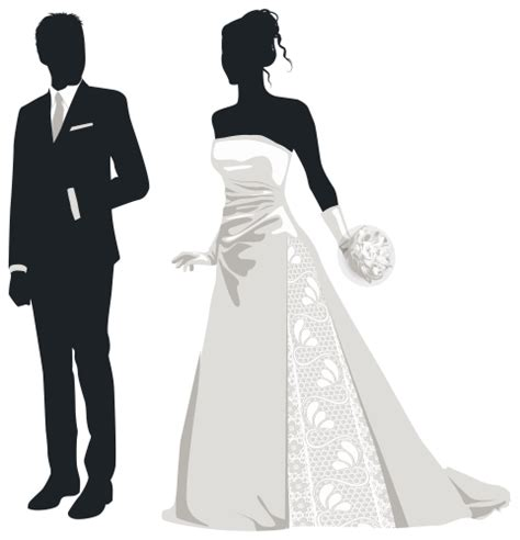 Mr Men Wall Stickers bride and groom silhouettes png clip art best web clipart