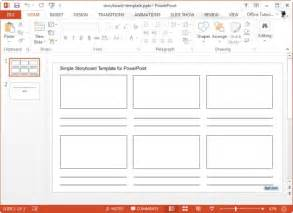 storyboard template powerpoint business storyboard template images