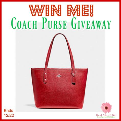 Coach Giveaway - coach purse giveaway enter daily us ends 12 22