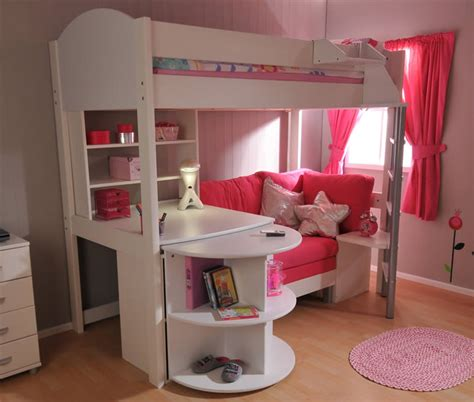 stompa casa 4 high sleeper bed with pull out sofa bed loft bed stompa casa 4 high sleeper bed with pull out