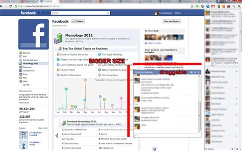 facebook chat bar top friends drag and enlarge your faceebook chat window techy wiki