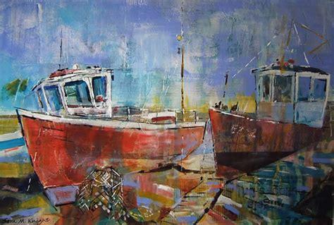fishing boat artists fishing boats surrey artist art in watercolour acrylic