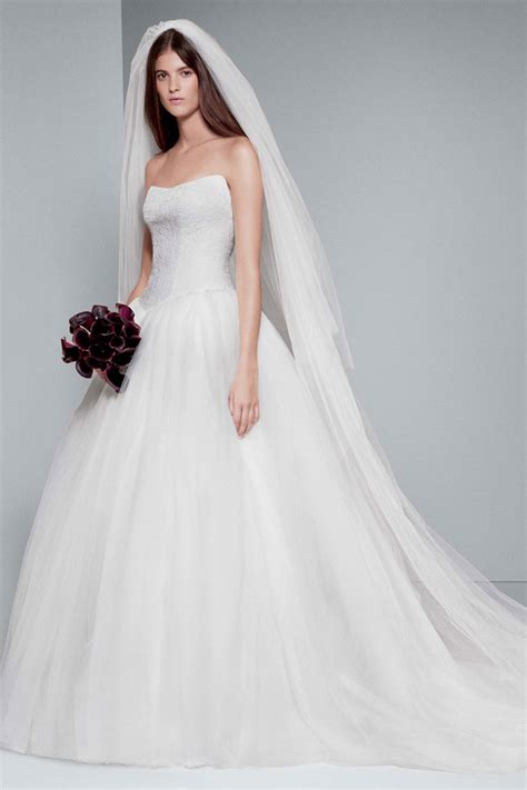 White Bridal Dresses by White By Vera Wang Wedding Gowns