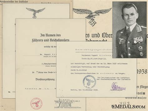 legion condor history of 0887403395 a document group to the legion condor kia in russia luftwaffe third reich award documents