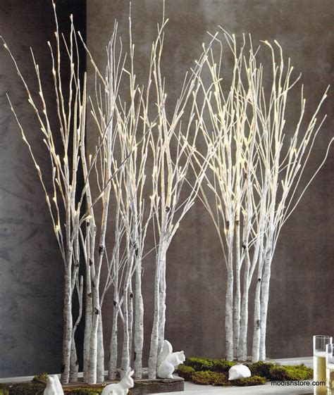 roost birch forest holiday decorative lights holiday
