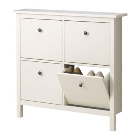 hemnes shoe cabinet ikea hemnes shoe cabinet with 4 compartments white