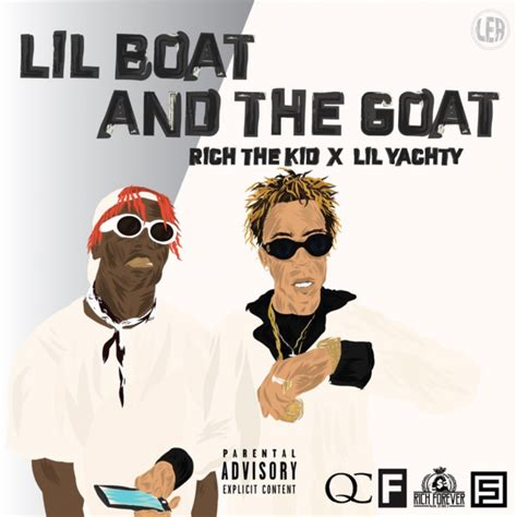 lil boat the goat rich the kid lil yachty announce lil boat and the goat