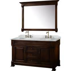 60 Vanity With Tower 60 Quot Andover 60 Cherry Bathroom Vanity Bathroom