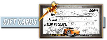 automotive gift certificate template home mobile car detailing national detail pros