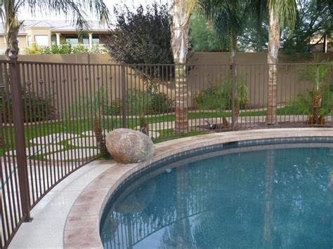 backyard pool fence ideas if we have to replace the 6 ft fencing around our pool i