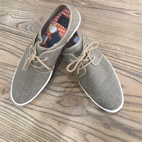 53 fish n chips other mens linen tennis shoes from