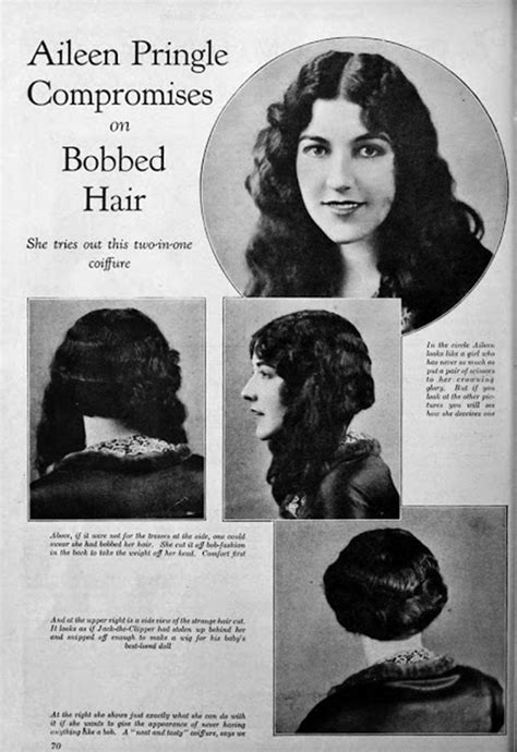 Vintage Women?s Hairstyles ? Fabulous Pictures of Women?s Hair and Make Up from the 1920s