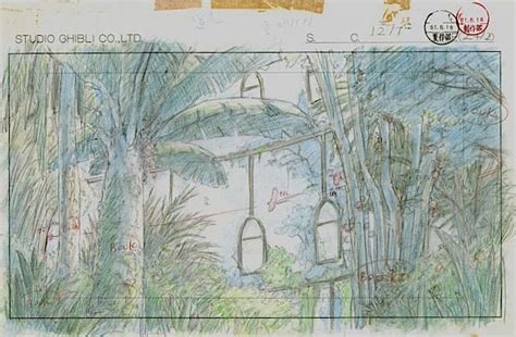 film production ghibli film castle in the sky layout design laputa s