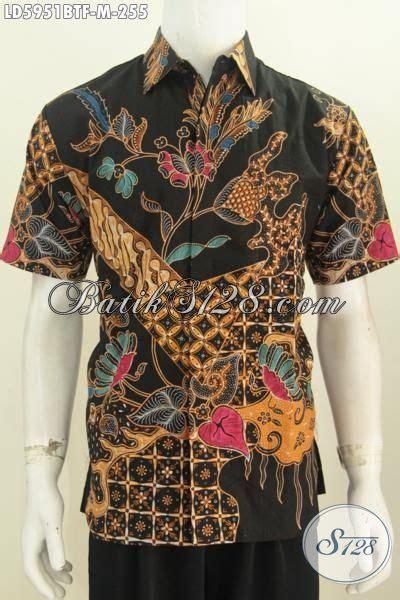 Kemeja Batik Kerja Formal jual produkk kemeja batik elegan dasar hitam pakaian