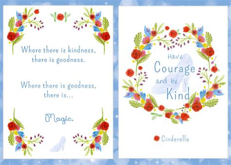 printable version of cinderella free movie quote printables from the new cinderella