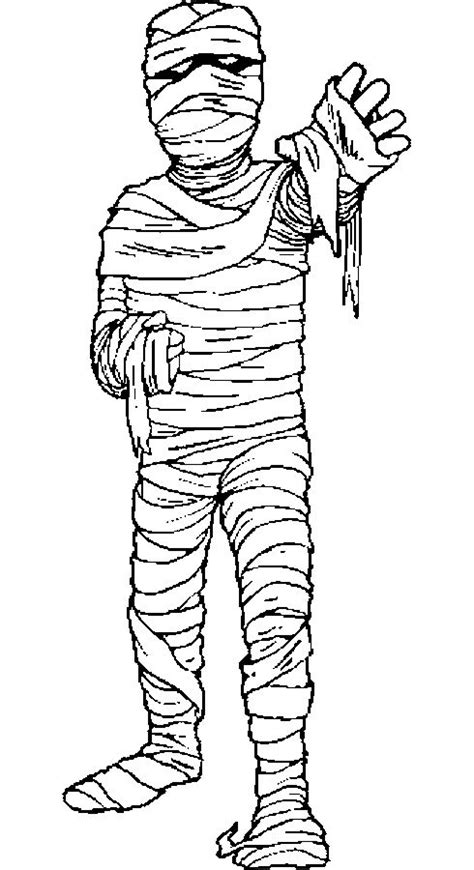 coloring pages egyptian mummies 24 best images about halloween on pinterest activities
